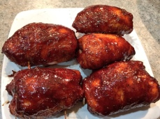 BBQ Chicken Smoked with Sweet Paprika.