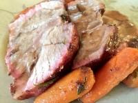 Sliced Pork Shoulder Roast