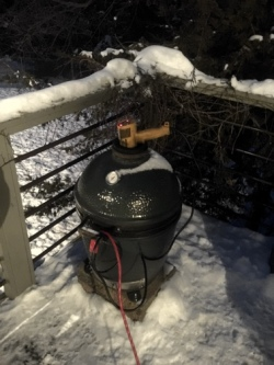 Defrost a BGE with Heat Gun